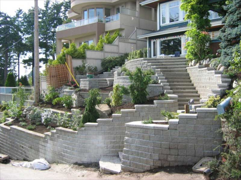 Comox Valley Landscape Company - Retaining Wall Installation Services