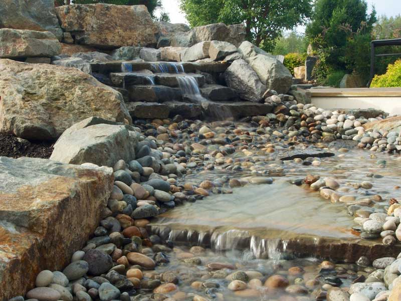 Comox Valley Landscape Company - Water Feature Design and Installation Services