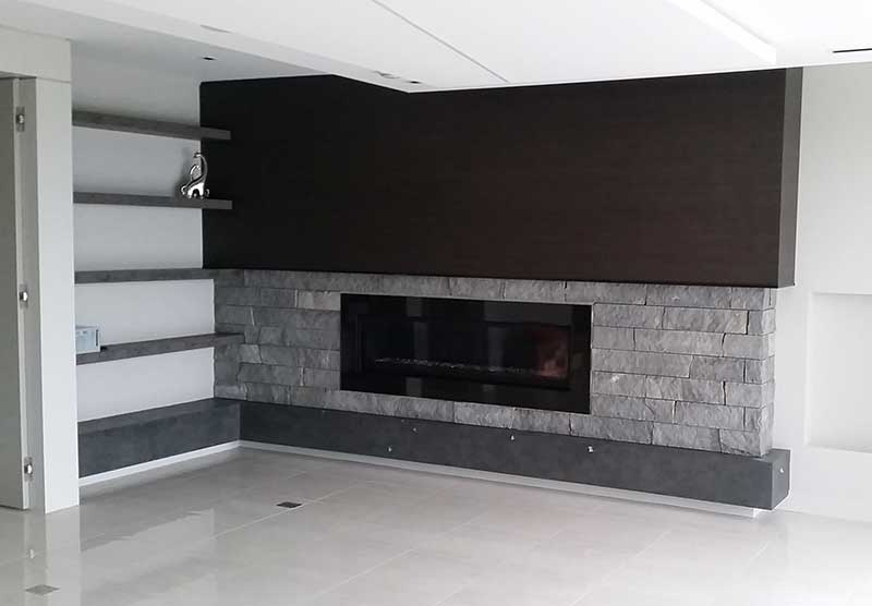Masonry Services in Cumberland BC - Indoor Fireplace Installation